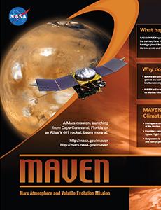 MAVEN Exhibit Poster