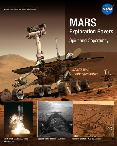 MARS Exploration Rovers Mission Poster