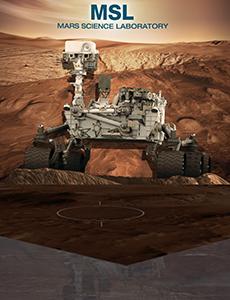 MSL Curiosity Exhibit Poster