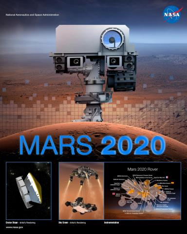 Mars 2020 Mission Poster