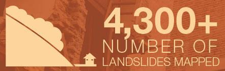 4,300 landslides mapped
