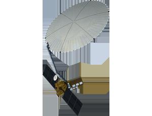 NI-SAR spacecraft icon