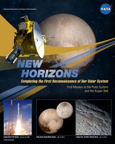 New Horizons Mission Poster