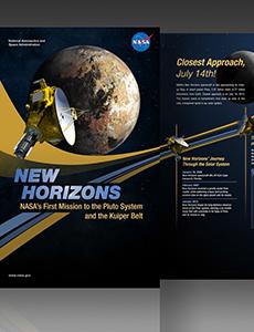 New Horizons Exhibit Poster
