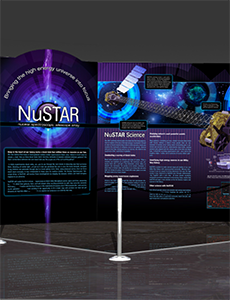 NuSTAR Exhibit Poster