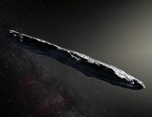 Artist's concept of 'Oumuamua
