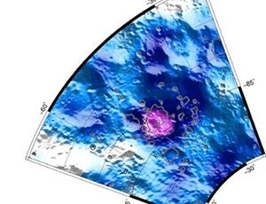 Distribution of Water Equivalent Hydrogen in Cabeus Crater