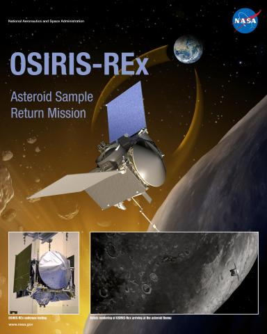 OSIRIS-REx Mission Poster