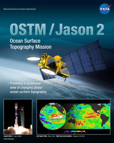 OSTM/Jason 2 Mission Poster