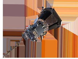 Illustration of Parker Solar Probe spacecraft
