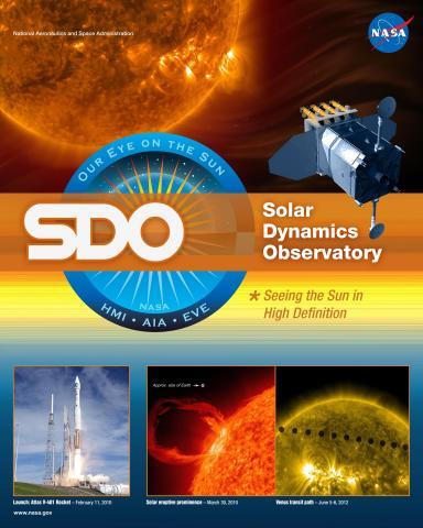 SDO Mission Poster