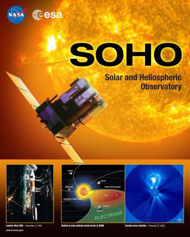 SOHO Mission Poster