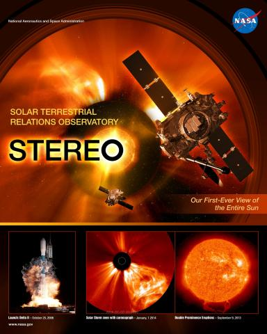 STEREO Mission Poster