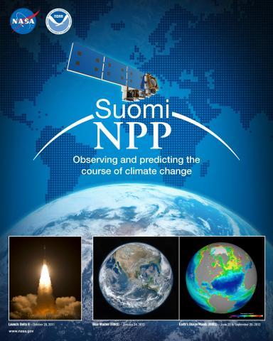 Suomi NPP Mission Poster