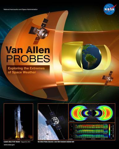 Van Allen Probes Mission Poster