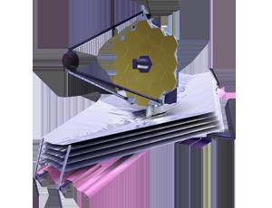 JWST spacecraft icon