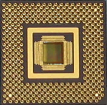 Photo of a circuit