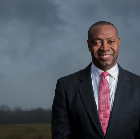 Portrait photo of Dr. James Marshall Shepherd
