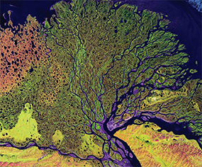 Satelliate image of earth