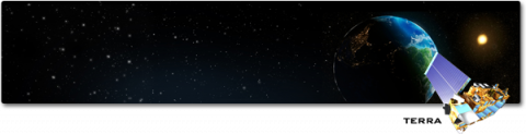 Terra satellite illustration