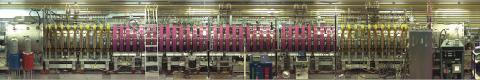 Photo of large plasma device