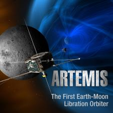Illustration of Artemis mission spacecraft