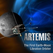 Illustration of Artemis mission spacecraft