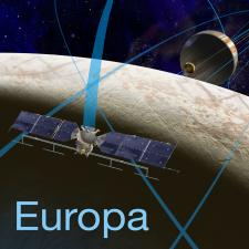 Illustration of Europa mission spacecraft