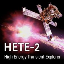 HETE 2 Mission Image