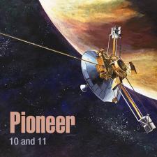 Pioneer 10 & 11 Mission Image