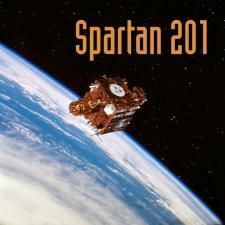 Spartan 201 Mission Image
