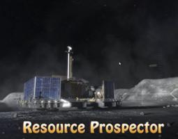 Artist's rendition of Resource Prospector
