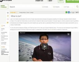 Screenshot of GPB page with an embedded YouTube video