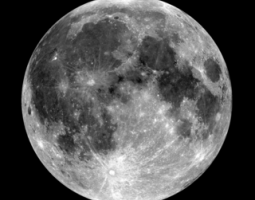 Moon: Ilmenite Seen with Ultraviolet Light