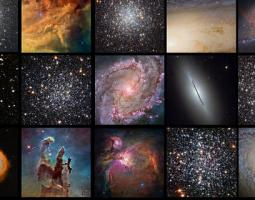 Gallery of Hubble images