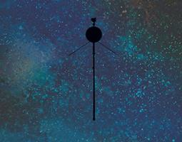Cropped image from Voyager 40th anniversary poster art