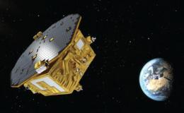 Artist concept of LISA Pathfinder spacecraft