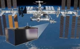 From its new vantage point on the International Space Station's Japanese Experiment Module - Exposed Facility, the Cosmic Ray Energetics and Mass (ISS-CREAM) mission, shown in the inset illustration, will study cosmic rays to determine their sources and acceleration mechanisms.