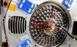 Photo of radial core heat spreader