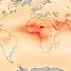 Satellite data visualization in Africa