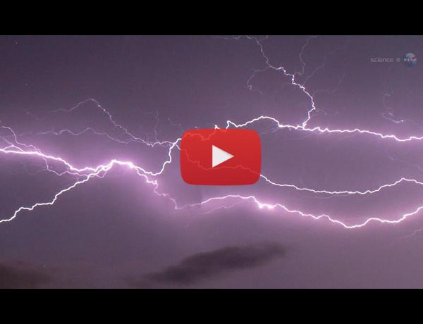 ScienceCasts: ISS Firestation to Explore the Tops of Thunderstorms