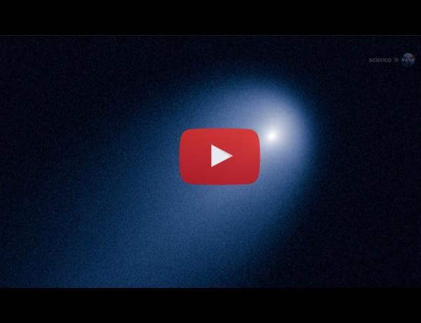 ScienceCasts: Amateur Astonomers See Comet ISON Approaching the Sun