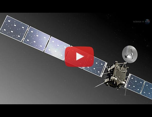 ScienceCasts: Rosetta Comet Comes Alive