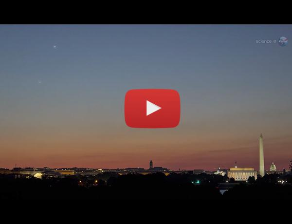 ScienceCasts: Beautiful Conjunction