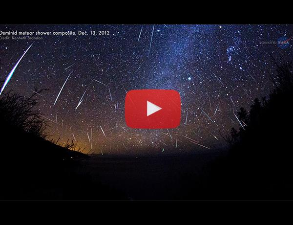 ScienceCasts: Embers from a Rock Comet: The 2014 Geminid Meteor Shower