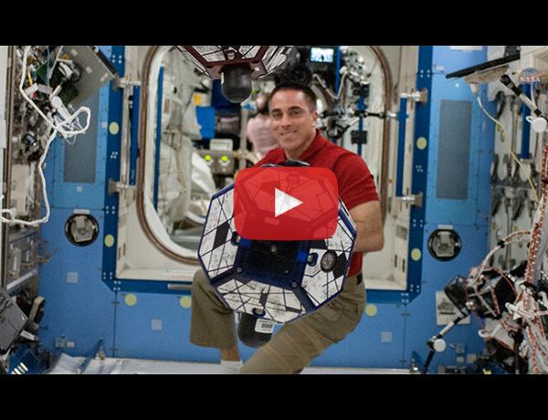 ScienceCasts: The Strange Way Fluids Slosh on the International Space Station
