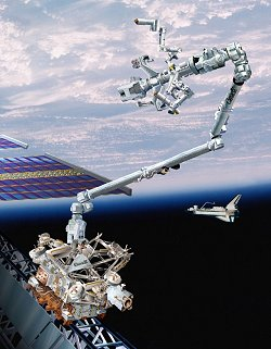 The Amazing Canadarm2 Science Mission Directorate