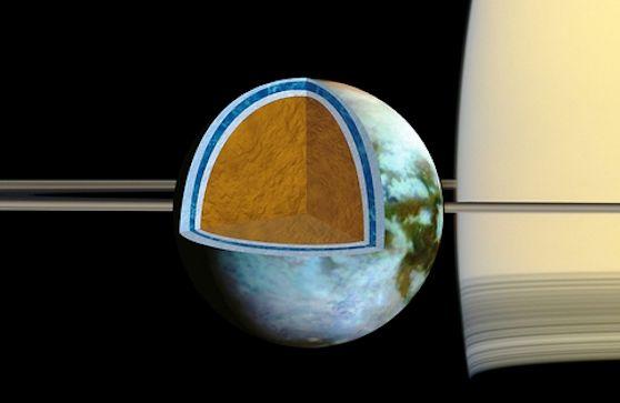 Saturn's moon Titan has a very salty ocean | Science ...