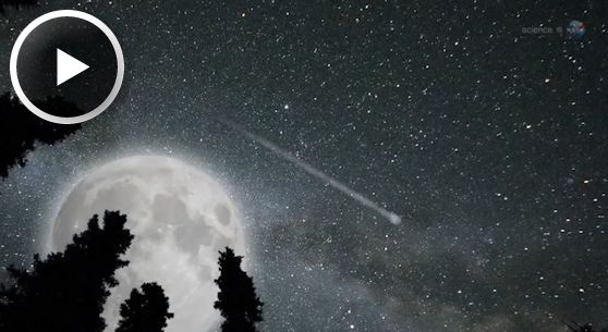 Perseid Meteors Vs The Supermoon Science Mission