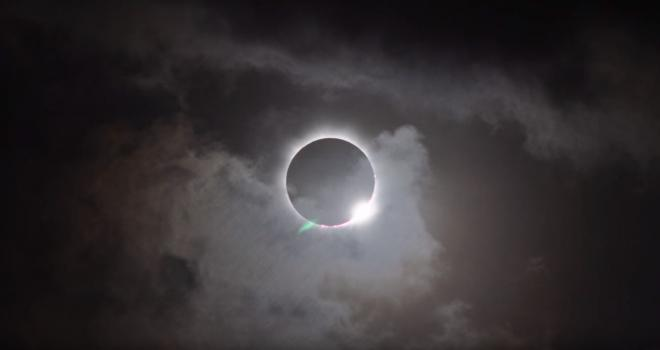 Still image of total solar eclipse